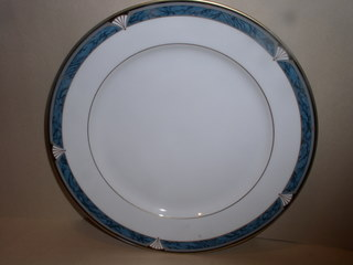 Make sure your browser can show photos and reload this page to see Gorham China Edgemont Gold Bread and butter plate --6 3/8