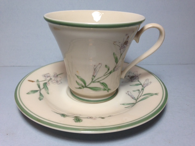 Make sure your browser can show photos and reload this page to see Gorham China Melrose Cup and saucer set
