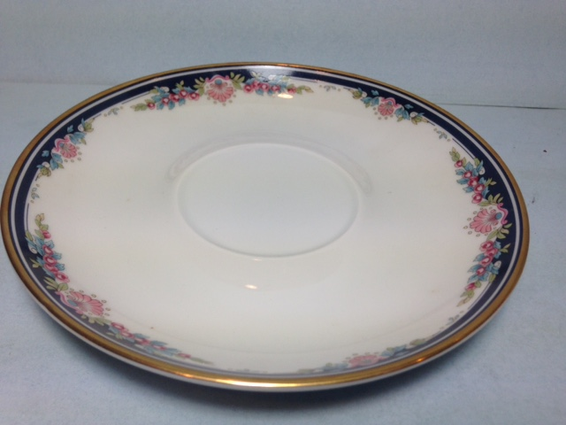 Make sure your browser can show photos and reload this page to see Gorham China Chantilly Saucer only