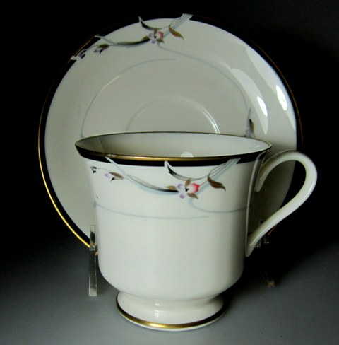 Make sure your browser can show photos and reload this page to see Gorham China Manhattan Cup and saucer set 3 3/8