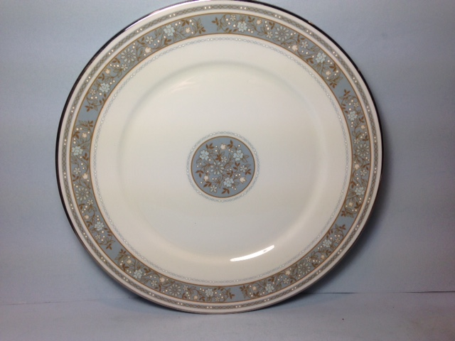 Make sure your browser can show photos and reload this page to see Oxford (Div Of Lenox) China Rendezvous Bread and butter plate