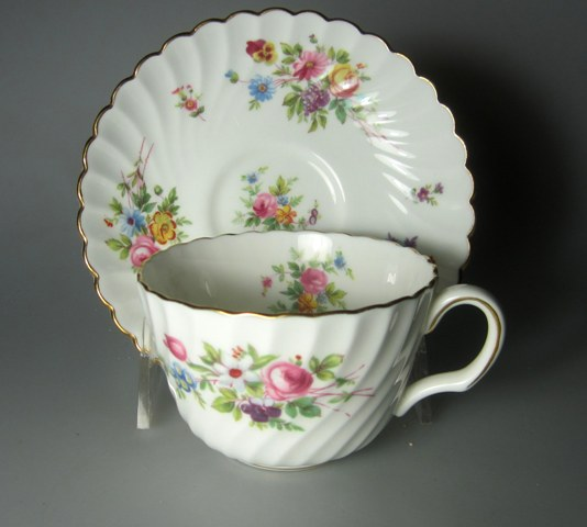Make sure your browser can show photos and reload this page to see Minton China Marlow S309 Cup and saucer set 3 1/2