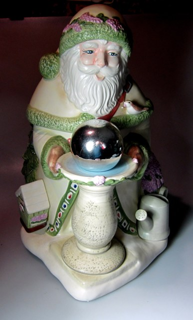 Make sure your browser can show photos and reload this page to see Pfaltzgraff China Naturewood Cookie jar -  (Figurine Cookie Jar) With Original Box