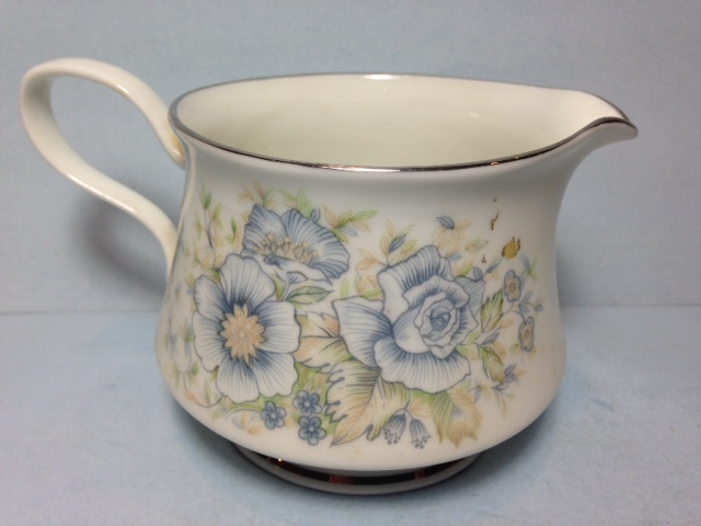 Make sure your browser can show photos and reload this page to see Oxford (Div Of Lenox) China Midsummer Creamer