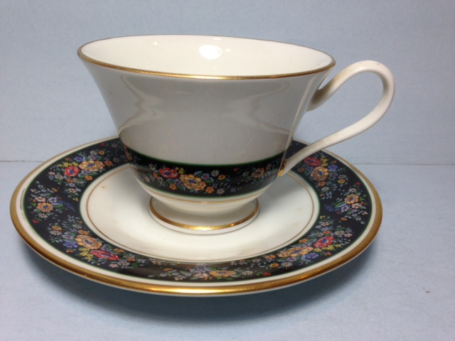 Make sure your browser can show photos and reload this page to see Oxford (Div Of Lenox) China Sutton Place Cup only (no saucer)