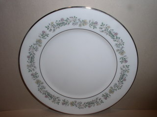 Make sure your browser can show photos and reload this page to see Oxford (Div Of Lenox) China Tenderly Bread and butter plate