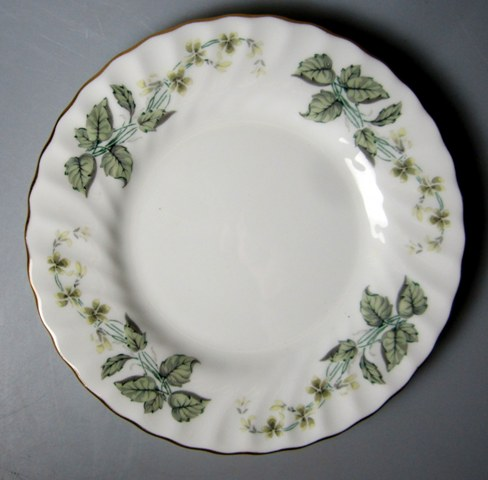 Make sure your browser can show photos and reload this page to see Minton China Greenwich S705 Bread and butter plate 6 1/4