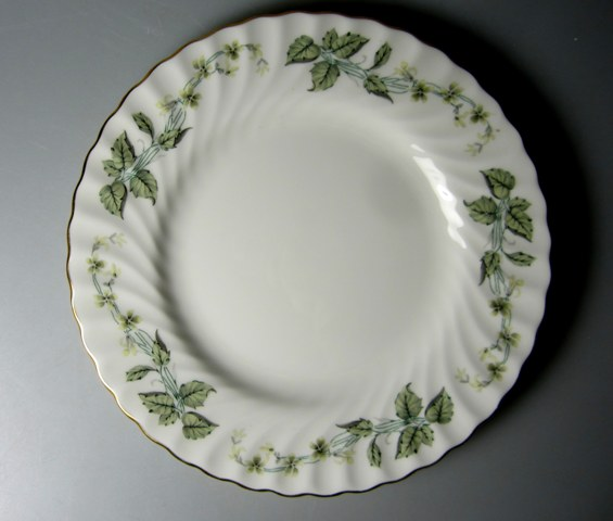 Make sure your browser can show photos and reload this page to see Minton China Greenwich S705 Salad plate 8
