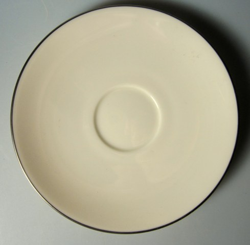 Make sure your browser can show photos and reload this page to see Lenox China Olympia X303p Saucer only 6 1/8