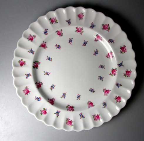Make sure your browser can show photos and reload this page to see Spode China Dimity Y5764 Salad plate 8